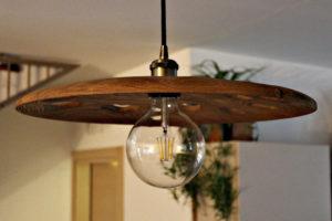 Lampadari in legno padova