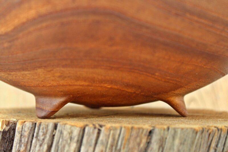 Bowl in olmo - piedini